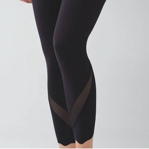 Lululemon Wunder Under Crop II Scalloped